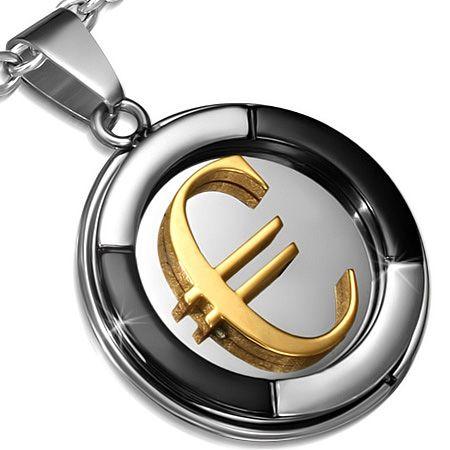 Кулон Евро