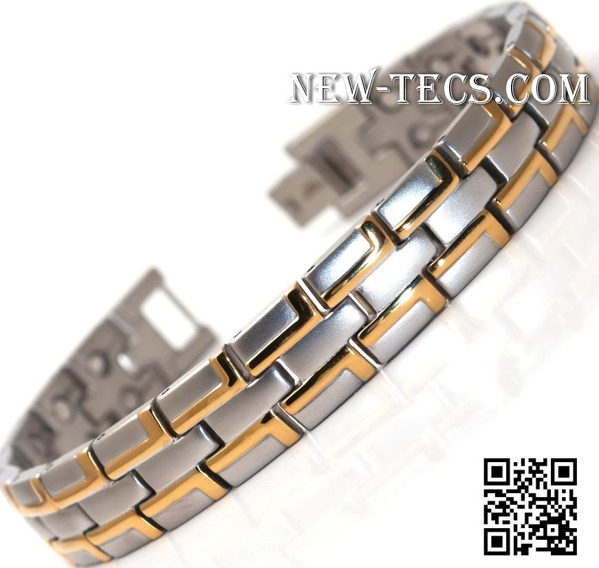 Магнитный браслет 8035GSt-IR