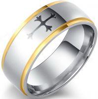 Кольцо с мальтийским крестом