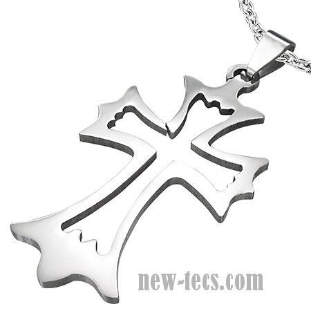Крест из ювелирной стали