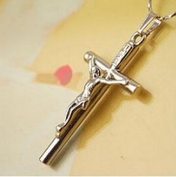 Нательный крестик с цепочкой