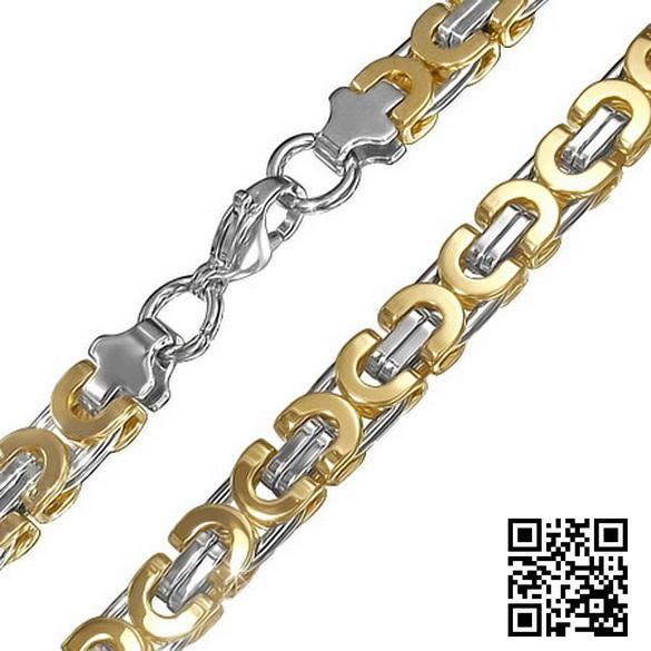 Мужская цепь стальная