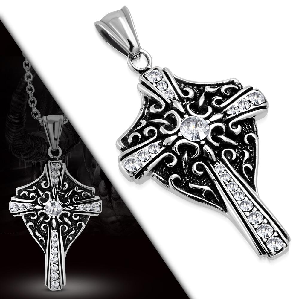 Кулон крест PPCS653